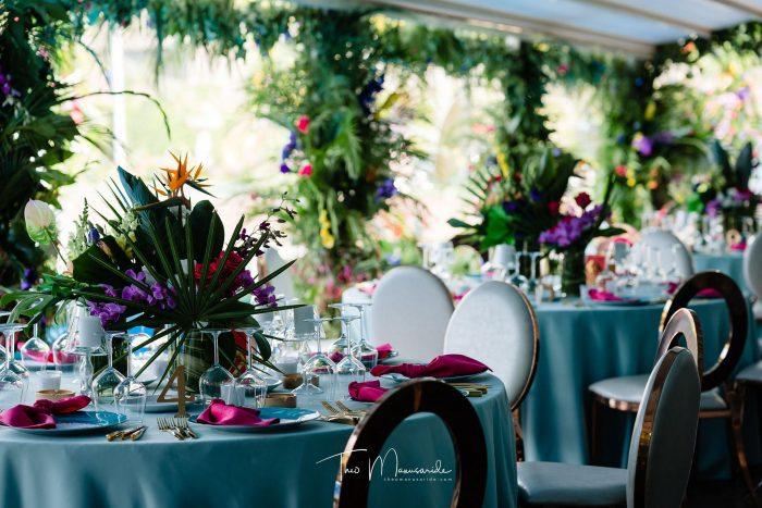 Nuntă tematică tropicală