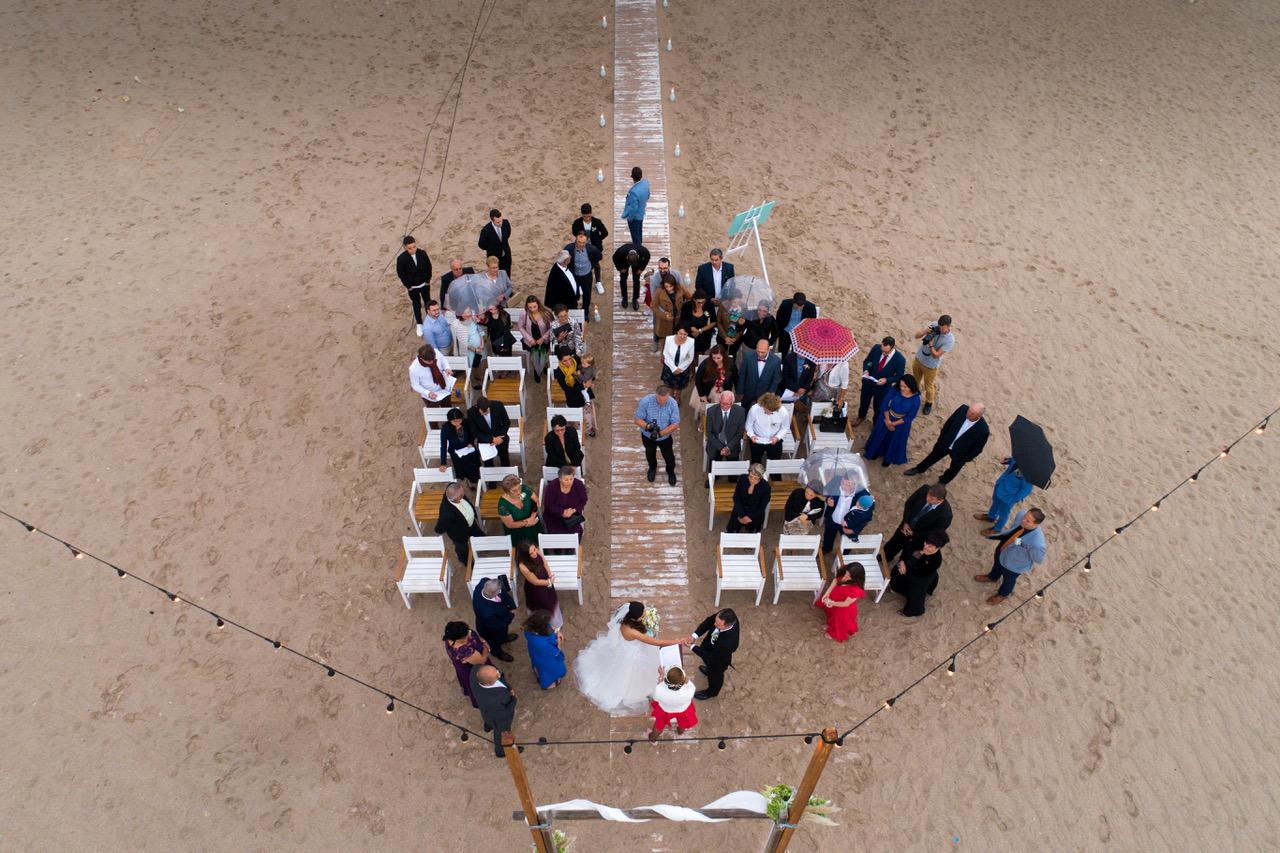 ceremonie umanista nunta la mare romania