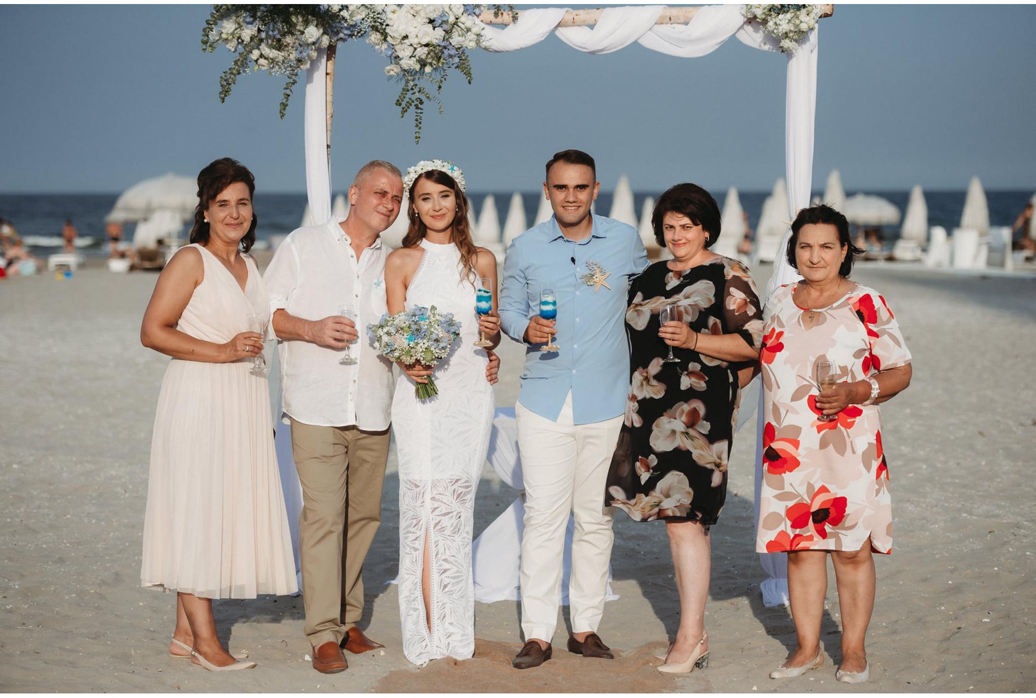 ceremonie pe plaja in romania